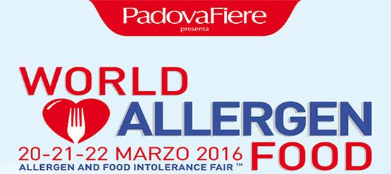 Kelinea al via world allergen food fiera dedicata ad for Fiere alimentari 2016